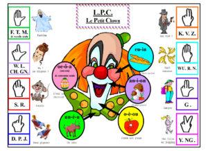 Affiche du Petit Clown pour les clés du LPC