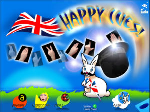 Happy Cues - familiarisation au Cued speech - code anglais