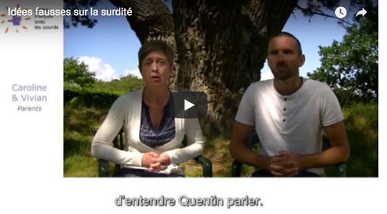 Vidéo ALPC - IDEES FAUSSES SUR LA SURDITE