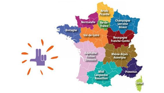 Réseau LPC en France