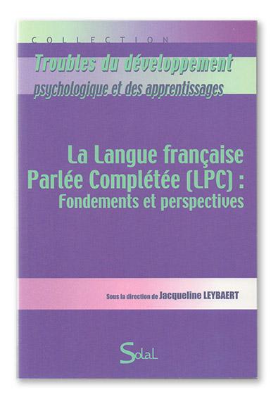 Livre - LPC : fondements et perspectives - J. LEYBAERT