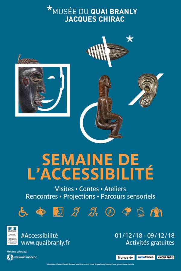 Semaine Accessibilité dec.2018 Quai Branly