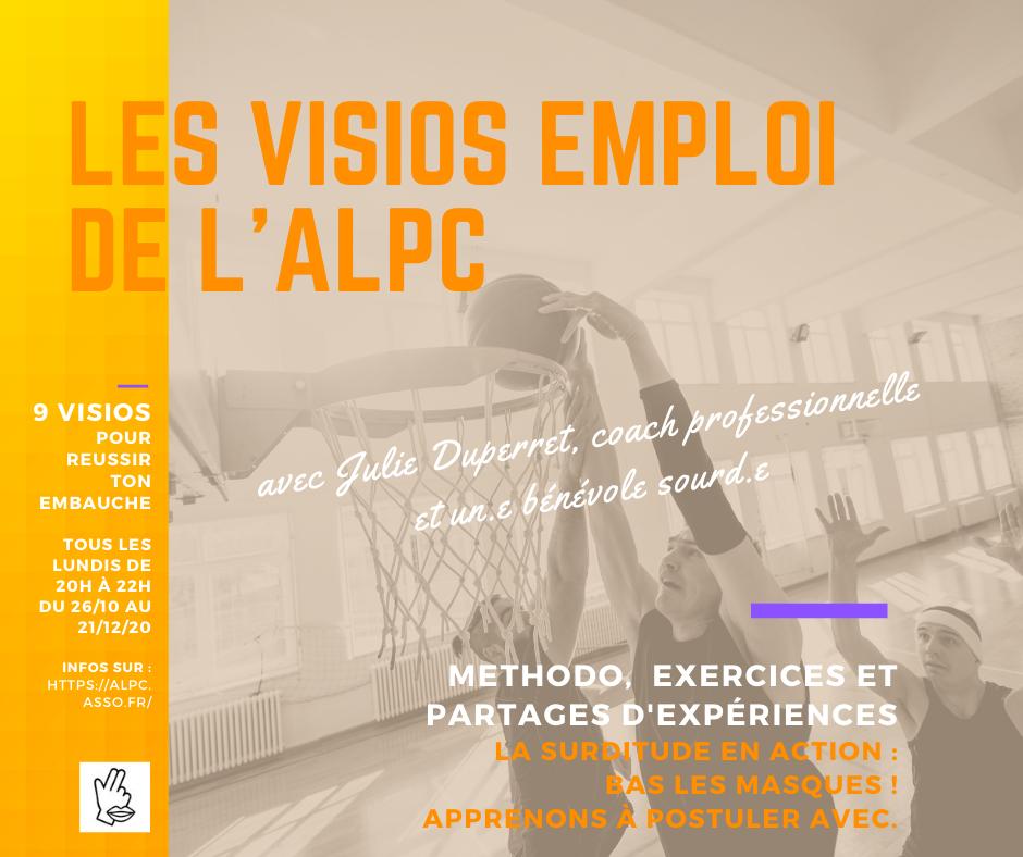 Les ateliers coaching de l'ALPC reprennent !