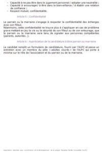charte parrainage ALPC - 2