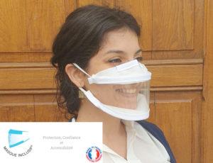 Masques transparents inclusif