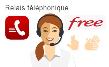 Relais téléphonique Free