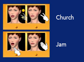 Cued Speech : Church ; jam